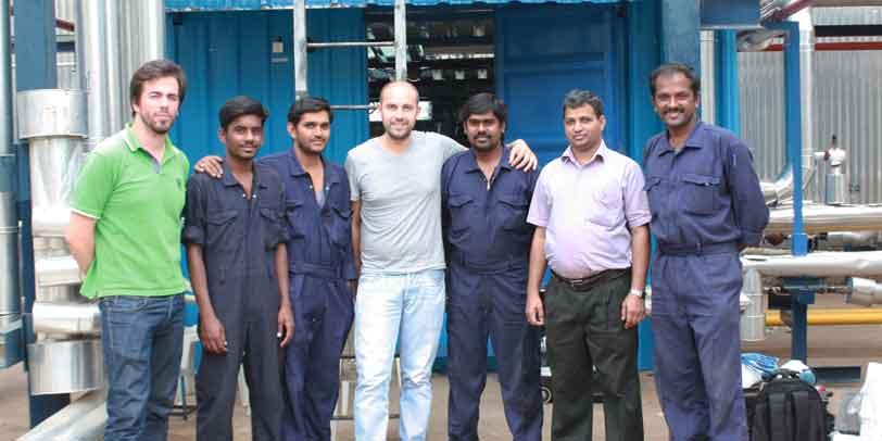 TecnoVeritas installed a Enermulsion unit in Madurai, India