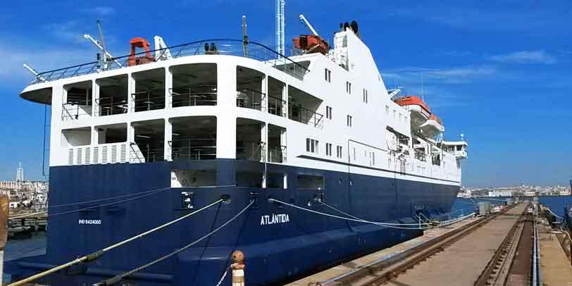 The M/V Atlantida