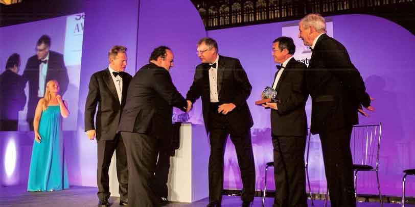 TecnoVeritas vence primeiro prémio nos Seatrade Awards, em Londres 2012