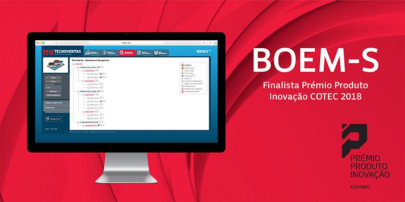 BOEM-S Finalista Prémio Produto Inovação COTEC 2018